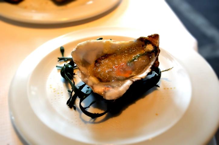 L'huître en 3 textures : une véritable immersion en pleine mer